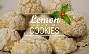 These lemon christmas cookies look so festive and they are very easy to make. Lemon Olive Oil Christmas Cookies Coronado Taste Of Oils