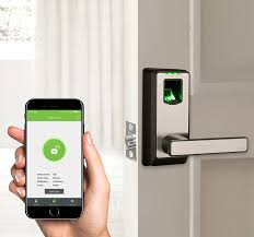 amazon electronic smart lock biometric fingerprint door lock with bluetooth keyless home entry with your smartphone zkteco pl10b camera photo