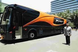 Latest Bus Designs Dc Design Builds Custom Bus For Godrej To Display Advanced