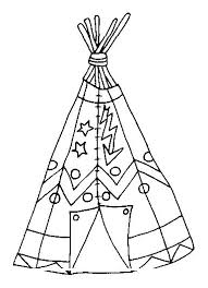 Indians Coloring Page 21 Coloring Kids