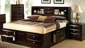 king platform bed frame with storage. Perfect With 33 Chic King Size Bed Frame With Bookcase Headboard Solid Oak Frames Inside Platform Storage