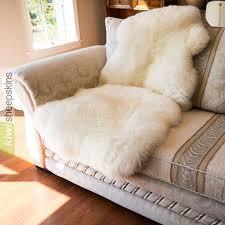 1 5 pelt sheepskin rug natural ivory white