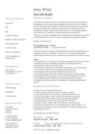 Junior Java Developer Resume Examples - Examples Of Resumes
