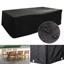 large outdoor furniture covers. Black Large Furniture Cube Cover Outdoor Garden Waterproof Heavy Duty 6 Seater Covers R