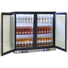 rhino commercial dual zone cold beer froster sg2h