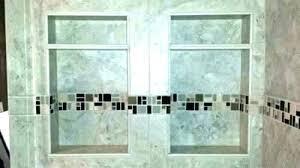 redi niche install tiled shower niche mist tile shower niche installation redi niche installation height