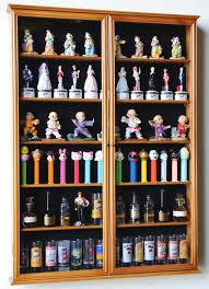 shot glass display case cabinet