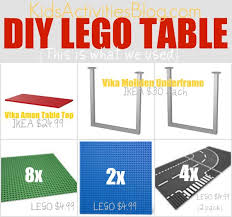 lego table from an ikea table