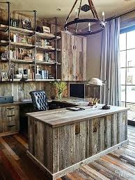 mens office decor. Mens Office Decor An All Wood Home Brings Barnyard Inspired Chic To The Next Level Desk E