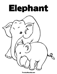 Small Picture Geography Blog Baby elephants coloring pages