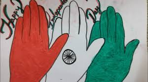 Independence Day Drawing Creative Idea Chart 15august Independence Day