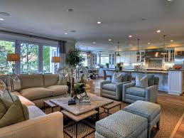 comfortable big living room living. Open Concept Living Room Coastal Theme Hgtv Comfortable Big E