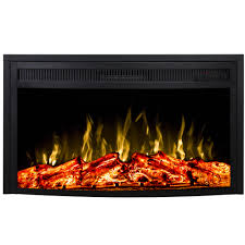 furniture top rated electric fireplaces fresh flame 26 inch curved ventless heater electric fireplace insert