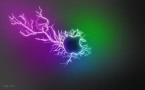 purple, violet, green, explosion, light ...