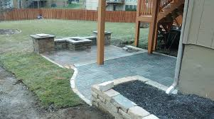 square paver patio with fire pit. Square Paver Patio With Fire Pit Photo - 4