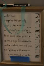Wipe Off Chore Chart Write On Write Off Chore Charts For Kids