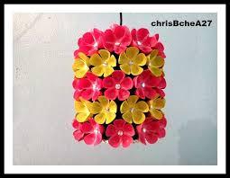 fl chandelier from plastic bottle
