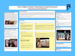 Create A Poster In Powerpoint How To Make A Poster Presentation Using Powerpoint Kimberly