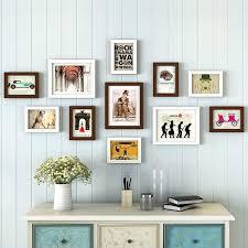 decor wood photo frame modern wall decor