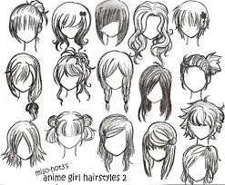 how to draw anime girl hair step by step for beginners. Fine How Hair Doodles Manga Drawing Drawing Tips Techniques Hair Styles  And How To Draw Anime Girl Step By For Beginners G