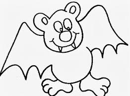 Small Picture Coloring Page Bat Pages Printable For Adults To Print Preschool