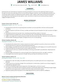 Preschool Teacher Resume Sample Download Cover Letter Kindergarten