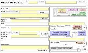 Prin scanarea codului de bare* de pe info card bt direct. Artificial Misionar Plantaţie Generare Ordine De Plata Justan Net