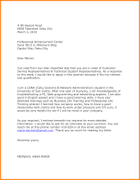 8 College Admission Application Letter Example Farmer Resume