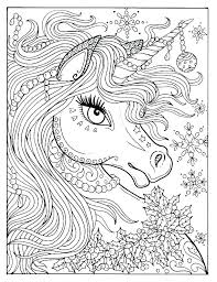 Free Printable Unicorn Coloring Pages Girls Coloring Book Danaverdeme