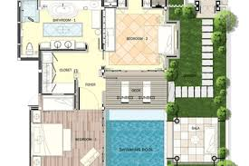 Estate With Bonus Garden Or Pool House  26615GG  Architectural Pool House Floor Plans