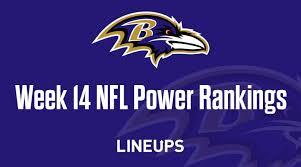 Week 14 Nfl Power Rankings