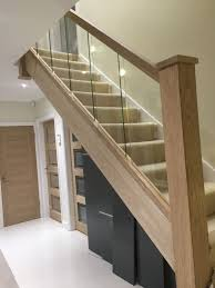 Reflections Glass and Oak Balustrade - Refurbishment Kit Staircase and  Landing. Stair BanisterGlass Stair RailingGlass ...