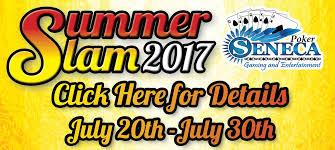 seneca niagara on twitter summer slam 2017 full schedule here s t co r6nff3vxqw