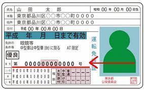 免許 証 番号