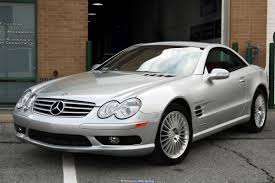 The fifth generation of the sl was introduced at the 2001 frankfurt motor show. 2003 Mercedes Benz Sl55 Amg For Sale 2458573 Hemmings Motor News
