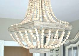 chandeliers wooden bead chandelier wood beaded chandelier impressive wood bead chandelier also small pertaining to