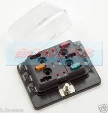12v 24v 6 way mini blade fuse box holder led failure warning image is loading 12v 24v 6 way mini blade fuse box