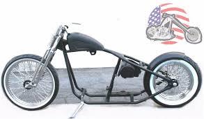 rigid hardtail springer bobber chopper rolling chis frame harley kit roller ebay
