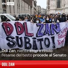 Sky TG24 - Il Ddl Zan 8 mesi dopo il voto alla Camera approda al Senato, e  l'esame del testo proseguirà a Palazzo Madama, senza alcuno stop o ritorno  del provvedimento in