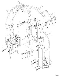 mariner v 200 2 5l 1991 only 0c291520 thru 0d081999 mercury mariner 135 150 175 200 2 5l xr4 magnum wiring harness starter solenoid