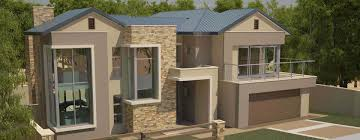 View Of House Plan CM360D. Slider. Modern House Plan With 4 Bedrooms ...