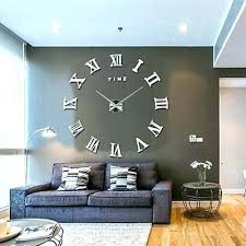 large wall decorations best clock decor images on decorating ideas big clocks and pictures for living room kids