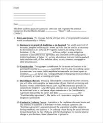 7 Business Letter Of Intent Word Pdf Free Premium