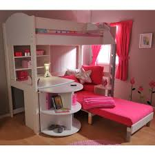 bunk bed with desk and couch. Bed With Desk And Sofa Underneath Bunk Futon Couch