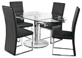 round glass dining table for 6 interior design extendable and chairs set 4 rectangul extendable glass