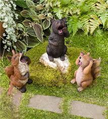 animal garden. Main Image For Sleepy Yawning Animal Garden Statue I