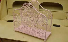 Mini Magazine Holder Delectable Ecollection Rakuten Global Market Pink Roses Paper Holder Or