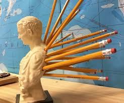 Julius Caesar Pencil Holder Extraordinary Ides Of March Julius Caesar Pen Pencil Holder CheapoThrills