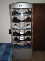 glass sneaker case designs