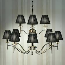 chandelier with black shades chandelier with black shades chandelier with black shades